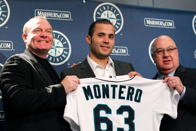 Jesus Montero, Jack Zduriencik, Eric Wedge