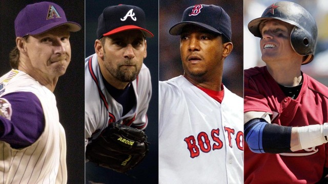 Johnson | Smoltz | Martinez | Biggio
