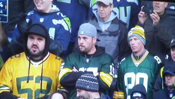 dejected packers fans