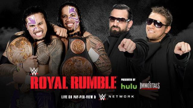 WWE Tag Title Match