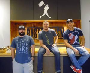 Three of Baseballism's Founders